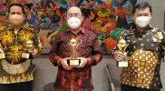 Kabupaten Kulonprogo Raih 3 Penghargaan TOP BUMD Awards 2021. (Foto: Dok Humas Pemkab Kulonprogo)