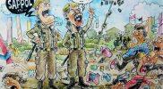 """Kartun Faisal UA berjudul """"Operasi 17-an"""" menjadi Juara 1 pilihan Juri. (Foto: Dok Pakarti)"""