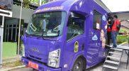 Mobil layanan vaksinasi milik Pemkot Yogya mulai dioperasikan untuk mendukung percepatan vaksinasi. (Foto: Humas Pemkot Yogya)