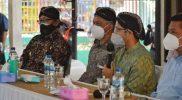 Nadiem Anwar Makarim saat melakukan audiensi dengan Kepala Sekolah dan Guru di Pendapa Agung Taman Siswa. (Foto: Humas Pemkot Yogyakarta)