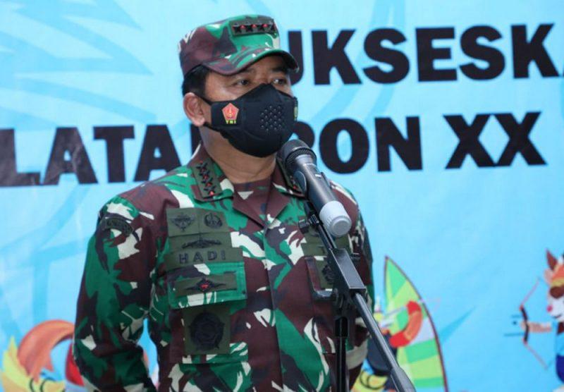 Panglima TNI Marsekal TNI Hadi Tjahjanto. (Foto: Puspen TNI)