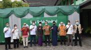 Vaksinasi PCNU Kota Yogyakarta bekerjasama dengan Himpunan pengusaha Nahdliyin (HPN) dan Polda DIY dengan sasaran 1.000 orang jamaah NU warga Yogyakarta. (Foto: Humas Pemkot Yogya)