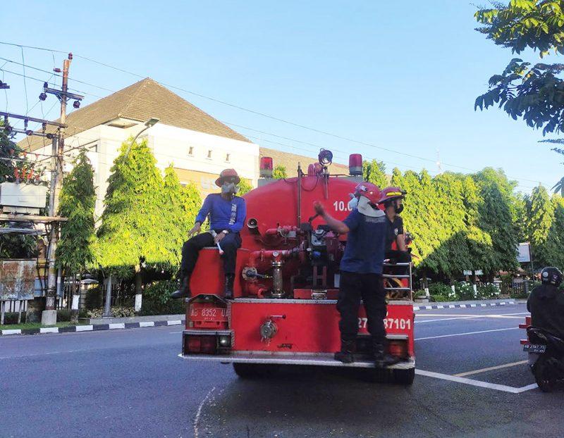 Selain akan membentuk Satuan Relawan Kebakaran, Pemkot juga akan melakukan pembangunan jaringan hidran kering di sejumlah kampung. (Foto: Humas Pemkot Yogya)