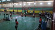 Tim sepak takraw kontingen Provinsi Jawa Tengah jalani sesi pemusatan latihan. (Foto: Diskominfo Jepara)