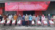 """Gerakan"""" Kebut Vaksinasi, Kebut Pemulihan Ekonomi"""" di Surakarta. (Foto: Humas Pemkot Surakarta)"""