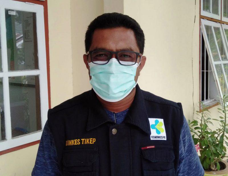 Saiful Salim, Kepala Bidang P2P Dinas Kesehatan Tidore Kepulauan. (Foto:MCTidore)