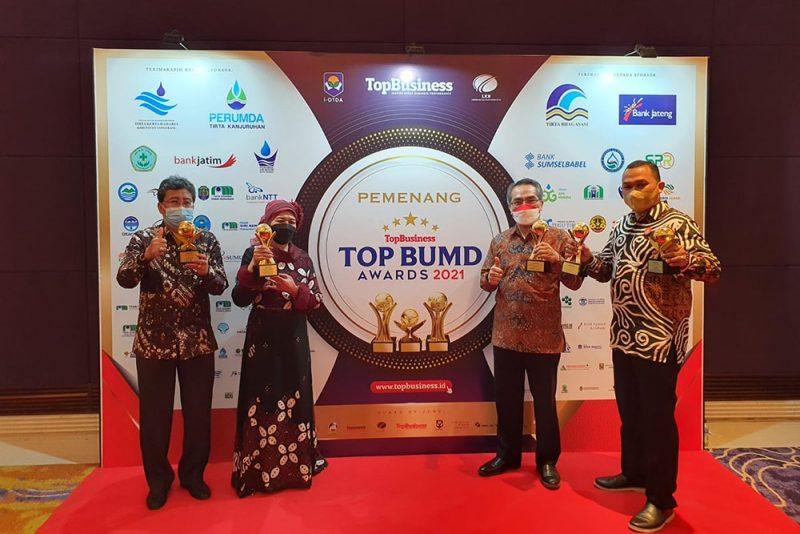 Keberhasilan memborong enam penghargan sekaligus dalam Top Business Awards ini, merupakan hasil kerja keras dan kerjasama dari seluruh pihak yang ada di jajaran Pemkab Bantul. (Foto: Dok Humas Pemkab Bantul)