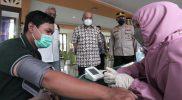 Vaksinasi terus digencarkan Pemda DIY. (Foto: Humas Pemda DIY)