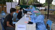 Pemkot Yogyakarta terus menggencarkan vaksinasi Covid-19 hingga di tingkat kampung. (Foto: Humas Pemkot Yogya)