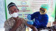 Grebeg Vaksin di Desa Bendo, hampir seluruh kelompok lansia telah tervaksin Covid-19. (Foto:Diskominfo Kabupaten Boyolali)