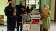 Mesin vacuum frying untuk mengolah jambu menjadi keripik. (Foto: Diskominfo Demak)