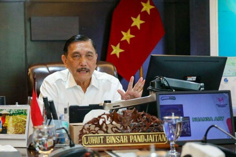 Menko Marves, Luhut Binsar Pandjaitan, mengumumkan bahwa Bali siap membuka perjalanan internasional bagi 19 negara. (Foto: Dok InfoPublik)