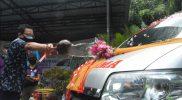 Wakil Walikota Yogyakarta, Heroe Poerwadi meluncurkan ambulans tim relawan Garda Wiratama. (Foto: Humas Pemkot Yogya)