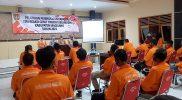 Pelatihan peningkatan kapasitas Tim Reaksi Cepat (TRC) di TEA Tanjung Muntilan, Jumat (15/10/2021) yang digelar BPBD Magelang. (Foto: humas/beritamagelang)