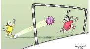 """Kartun karya Wahyu Siswanto, kartunis lepas tinggal di Lumajang Jawa Timur. Karya ini termuat dalam buku """"Indonesia Melawan Corona ala Kartunis"""" yang diterbitkan Graha Ilmu bersama Federasi Kartunis Indonesia (Pakarti), Cetakan I - 2020."""