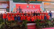 Launching dan gatering tim PSIR yang diselenggarakan di Pendapa Museum Kartini Rembang, Kamis (21/10/2021). (Foto:MC Rembang)