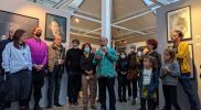 Pembukaan pameran Déstructuralisme Figuratif (DF) Art Project 2021 yang diikuti Ronnie Jiang, di Pavillon 18, Parc Floral de Paris. (Foto: Kemendikbudristeki)