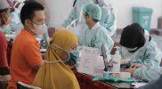 Vaksinasi di Kabupaten Sleman terus digenjot. Kini PPKM di Sleman turun dari level 3 ke level 2. (Foto: Humas Sleman)