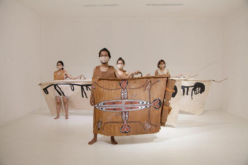 Karya Mella Jaarsma. (Foto:Biennale Jogja XVI)
