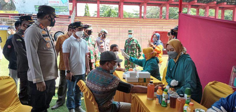 Foto ilustrasi pelaksanaan vaksinasi yang digelar di Kabupaten Batang. (Foto:MC Kab Batang)