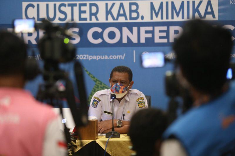 Kepala Dinas Kesehatan Kabupaten Mimika, Reynold R. Ubra. (Foto: Jimmy/MC Kominfo PON Papua Klaster Mimika)
