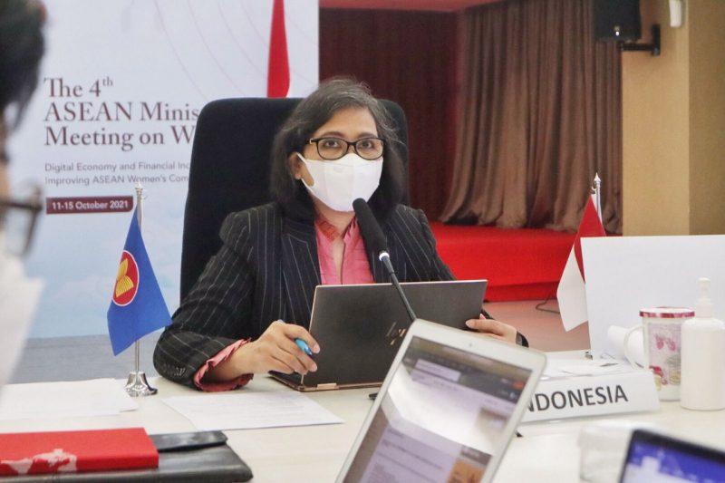 Deputi Bidang Kesetaraan Gender, Lenny N Rosalin. (Foto:InfoPublik.id)