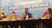 Kepala Dinas Kesehatan Kabupaten Jayapura Papua, Khairul Lie menegaskan penanganan atlet dan official kontingen PON XX Papua yang terkonfirmasi positif Covid-19, dengan cepat dan tanggap. (Foto: MC Kominfo PON XX Papua Klaster Jayapura)