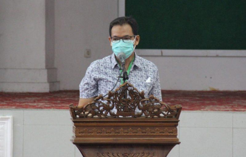 Agus Sujarwo, Kepala Disdikpora Kabupaten Temanggung. (Foto:MC TMG)