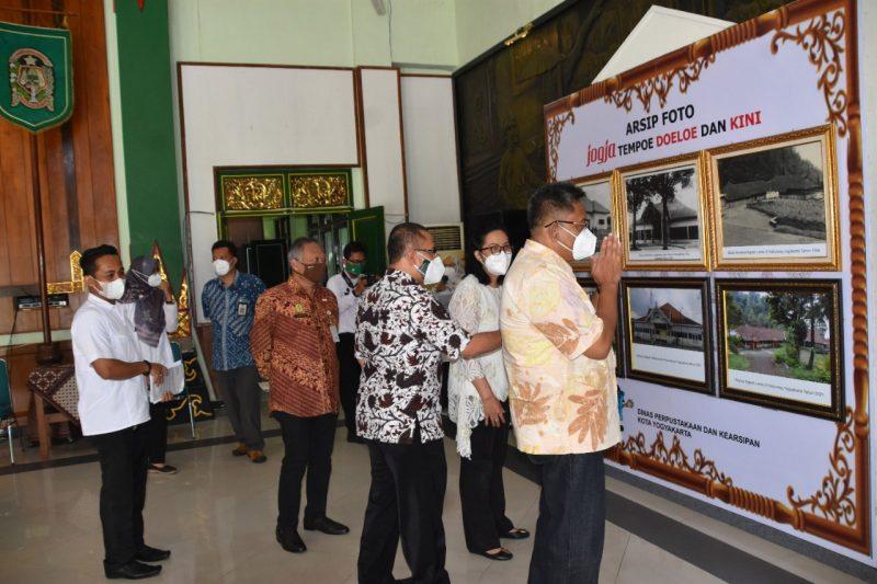 Foto dokumentasi Yogyakarta tempo dulu yang ruang Grha Pandawa, Kompleks Balaikota Timoho ikut hadir menyemarakkan HUT ke-265 Kota Yogyakarta. (Foto: Humas Pemkot Yogya)