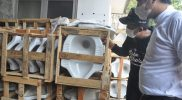 Dinas Kesehatan (Dinkes) Provinsi Jawa Tengah membangun 35 ribu jamban gratis bagi warganya. Dengan program bansos stimulan jamban tersebut, diperkirakan 94,47 persen kepala keluarga (KK) di Jateng telah terbebas dari buang air besar sembarangan. (Foto: Diskominfo Jateng)