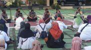 Kapolres Purworejo menerima audensi warga Wadas pendukung proyek pemerintah dan menagatakan akan mendamingi dan melindungi warga. (Foto: Istimewa)