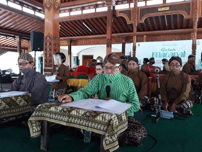 Gelar seni sastra macapat di Pendopo Ndalem Ngabean Jalan Ngadisuryan, Kraton, Yogyakarta, mewarnai HUT ke-264 Kota Yogyakarta. (Foto: Humas Pemkot Yogya)