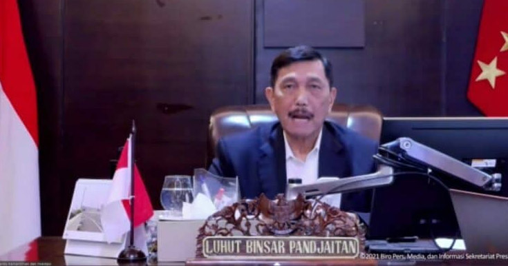 Menteri Koordinator Bidang Kemaritiman dan Investasi, Luhut B. Pandjaitan. (Foto: Humas Kemenko Marves)