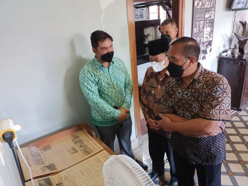 Rumah pribadi peninggalan pahlawan nasional Jenderal Gatot Subroto di Jalan Brigjen Soediarto Ungaran disulap menjadi sebuah museum. (Foto: MC Kab Semarang)