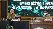 Ganjar Pranowo mengatakan, Pemprov Jateng menyiapkan tempat karantina khusus, bagi atlet dan ofisial Jateng, sepulang berlaga di PON XX Papua, untuk memastikan kondisi mereka tidak membawa virus Corona atau penyakit lainnya setelah bertanding. (Foto: Diskominfo Jateng)