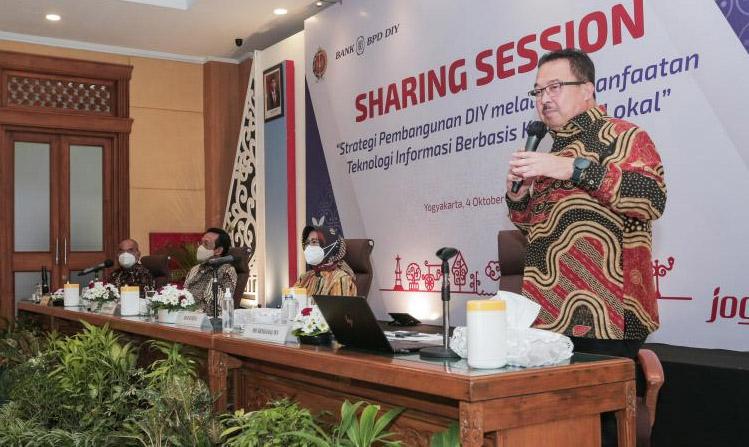 Rhenald Kasali dalam sharing session