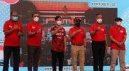 Gibran Rakabuming membuka gelaran Solo Great Sale 2021. (Foto: Humas Pemkot Surakarta)