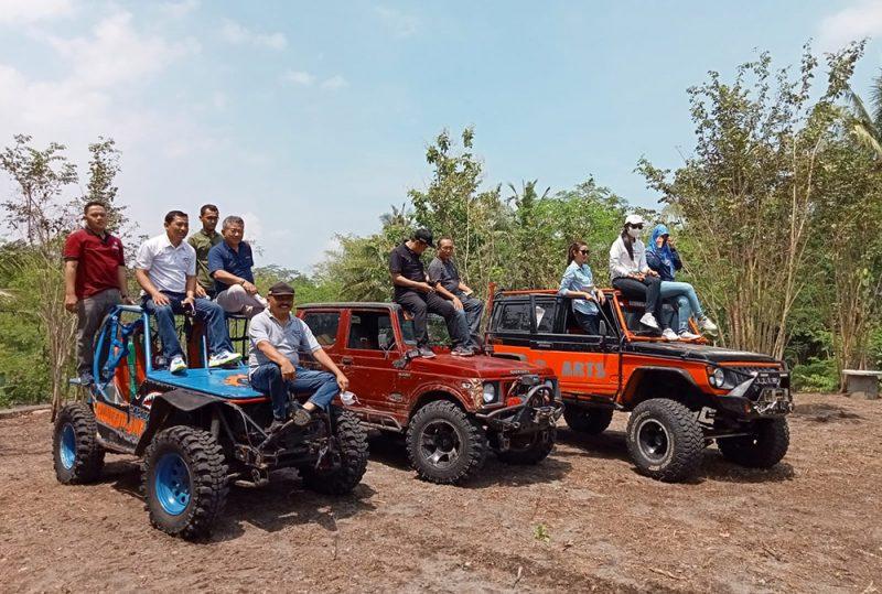Wisata Adventure Lembah Tapal Batas Mesir hadir untuk wisatawan yang menyukai tantangan. (Foto: Humas/beritamagelang)