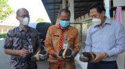 Ketua Tim Gugus Pertembakauan Kabupaten Temanggung, Sri Hariyanto mengatakan, dari pantauan hingga Oktober 2021 ini, di gudang-gudang, proses pembelian masih berlangsung, seperti di PT Gudang Garam. (Foto:MC.TMG)
