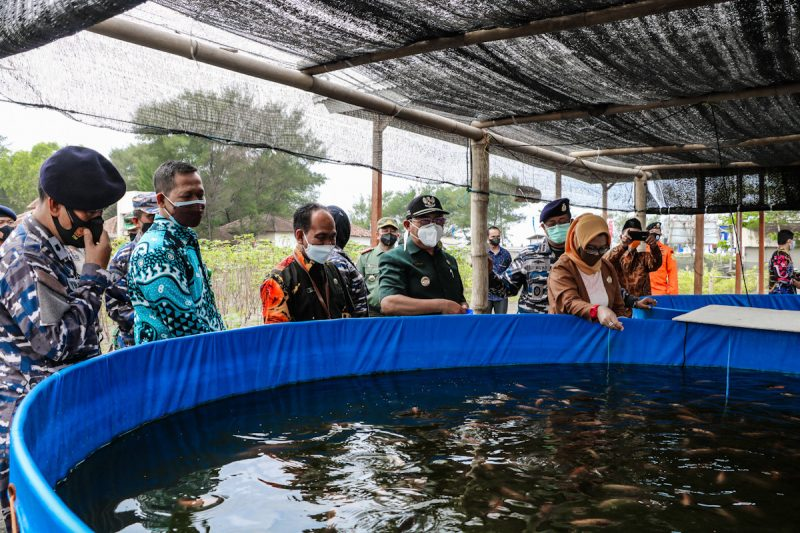 Kalurahan Jangkaran, Kapanewon Temon, Kulon Progo DIY dicanangkan sebagai Kampung Bahari Nusantara. (Foto:MC Kab.Kulonprogo)