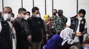 Komandan Korem 072/Pamungkas Brigjen TNI Afianto mendampingi kunjungan Menparekraf Sandiaga Salahuddin Uno di Novotel Suites Malioboro. (Foto:Penrem_072)