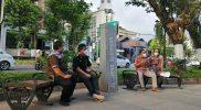 Talkshow Pembukaan Pekan HUT ke-265 Kota Yogya, di Pedestrian Jalan Jenderal Sudirman. (Foto: Humas Pemkot Yogya)