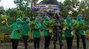 Satuan Kompi Kavaleri 2/JRTR Demak Ijo Yogyakarta melaksanakan program ketahanan pangan dengan memanfaatkan lahan kosong. (Foto:Dok Kavaleri 2/JRTR)