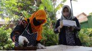 Sebanyak 40 orang perajin batik se-Kabupaten Temanggung mengikuti uji kompetensi batik, khususnya batik cap. (Foto: MC Temanggung)